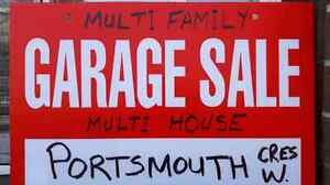 Multi family / Multi home GARAGE SALE