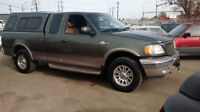2002 Ford F-150 King Ranch E/C 4X4 MUST BE SEEN!
