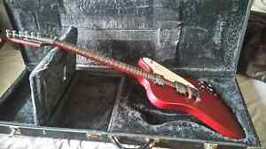 Epiphone Firebird with fitted case