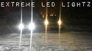 Longest lasting brightest led headlights on earth!