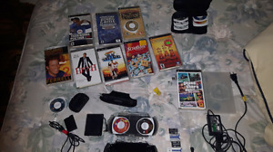 PSP original series with games, movies, plenty of other things