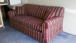 Sofa Bed Hide-A-Bed Simmons Double Spring Mattress