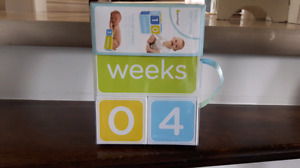 Baby age blocks - boy