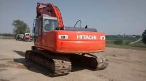 2006 Hitachi 200 LC Excavator with hydraulic thumb/pin grabber Stratford Kitchener Area image 4