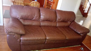 full size leather couch for sale