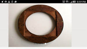 Antique 1800s  Oval picture frames(2)