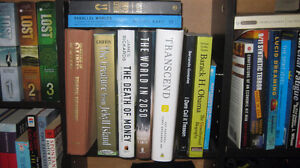 Assorted books - science, economics, conspiracy, health, fiction
