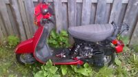 Honda scooter for free