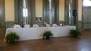 Ivory 96 x 120 banquet length tablecloths
