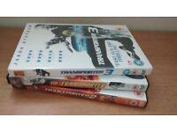 Jason statham the transporter trilogy DVD set 1,2&3