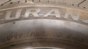 """4 summer tires very good condition 15"""""""