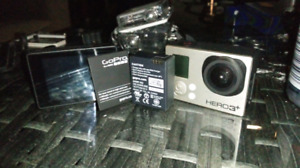 GoPro HERO 3 Plus+ ...Silver Edition with accessories