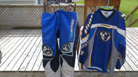 Thor motocross pants and jersey