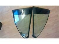 BMW e46 m sport coupe rear quarter glass