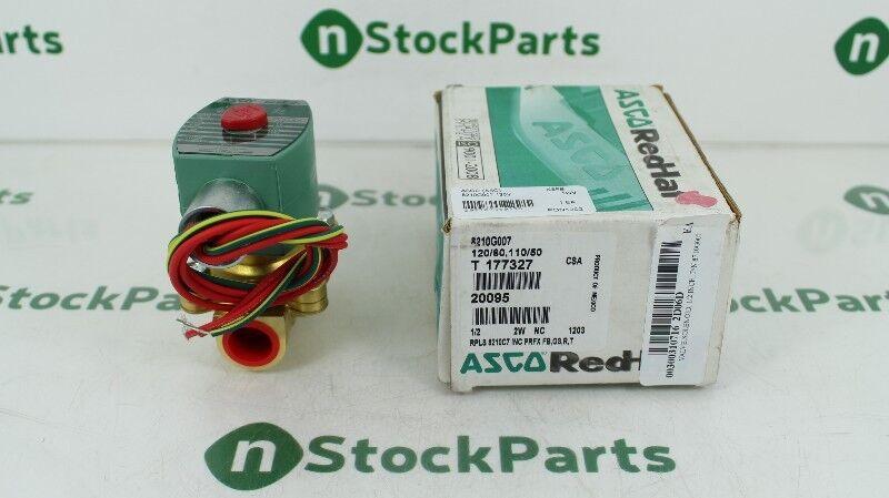 ASCO 8210G7 120//60 110//50 300PSI NSMP