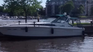 SEA RAY EXPRES CRUISER 39 1989