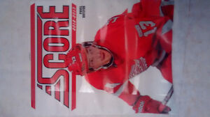 Complete set of 2012-13 Score hockey cards