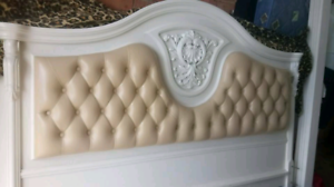 French Provincial King Double Bed (Immaculate Condition) Newcastle Newcastle Area Preview