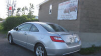 2007 civic,2 doors ,auto,ac,149km,12 M wrty,safety for $5995