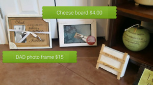 Picture frame and other decor