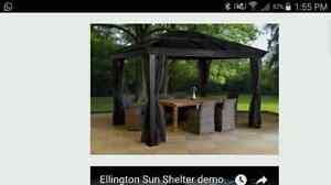 Mosquito net for gazebo (just the net - juste le filet)