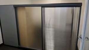Siding  wall partition