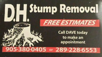 D.H. Stump Removal