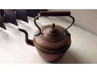 Small brass/copper kettle