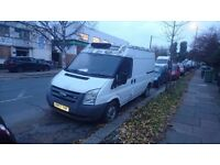 Ford transit 2.2 2008 mwb fridge van spares or repairs non runner cat c