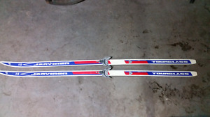 Jarvinen cross country skis