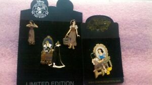 Disney pin broche snow white et evil queen tres rare