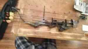 PRICE REDUCED **Bear Jennings carbon extreme compound bow