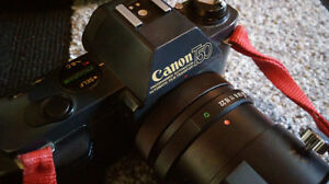 Canon T50 SLR + lenses and accessories