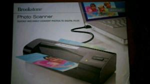 FOR SALE BRAND NEW BROOKSTONE PHOTO SCANNER