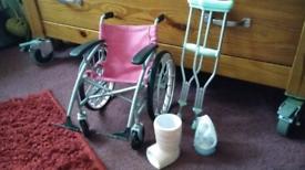 Our generation dolls. Wheelchair