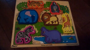 3 Wooden puzzles with a case Kitchener / Waterloo Kitchener Area image 2