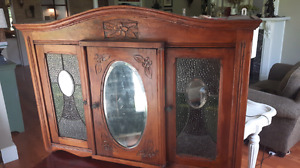 Antique Hanging Cupboard/Cabinet For Sale
