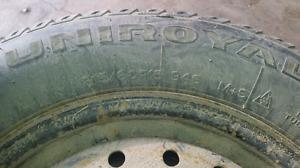 Snow tires Uniroyal Tiger Paw 215/60r15
