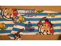 Cot bed bedding Pete never land pirates