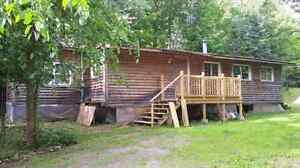 2 bedroom home on 1 acre lot