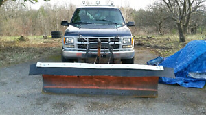 Chevrolet 2500 4x4 with Plow