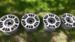 Set of 15 inch rims for a chevy