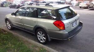 2006 Subaru Outback Cuir+Toit Familiale