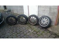 AUDI A3 alloys with tires
