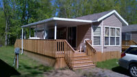 2 Bedrooms Park Model Cottage 33' x 10' Deck Income Opportunity