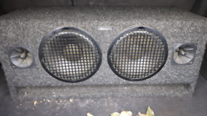 Subs and amplifier