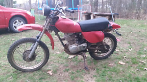 1980 80cc Honda Dirt Bike
