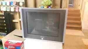 "27"" flat screen tube TV for sale"