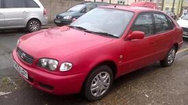 Toyota Corolla 1.6 auto 2001MY GS, AUTOMATIC, LONG MOT, SMOOTH RUNNER
