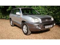 2003 Hyundai Santa Fe 2.4 GSI Manual Silver 5 Door